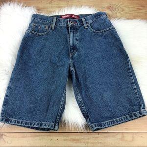 TOMMY HILFIGER   Medium Wash Denim Shorts